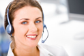 Image of a customer service operator